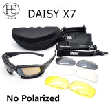 Daisy X7 Cycling Polarized Sunglasses Military Tactical Outdoor Activity Daisy C5 UV400 Protection Goggles Cycling Eyewear