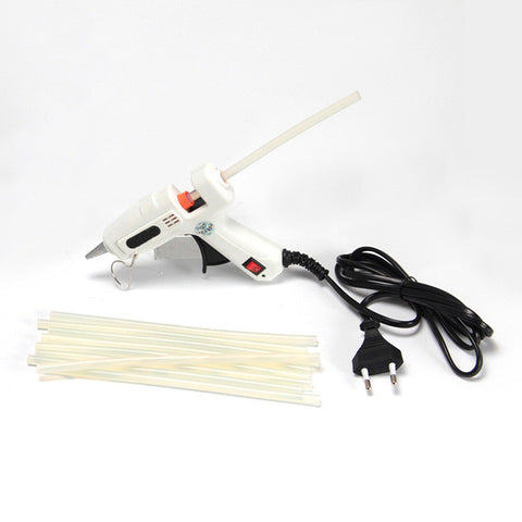 Crazy power 25W High Temperature Heater Melt Hot Glue Gun Graft Repair Tool Heat Gun pistolas silicona caliente pistolet colle