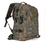 40L 3D Outdoor Sport Military Tactical Backpack Rucksack Bag for Camping Traveling Hiking Trekking