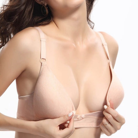 New Maternity nursing bra Cotton Breastfeeding bra for Pregnant women Pregnancy Breast feeding underwear clothing 34-42 B