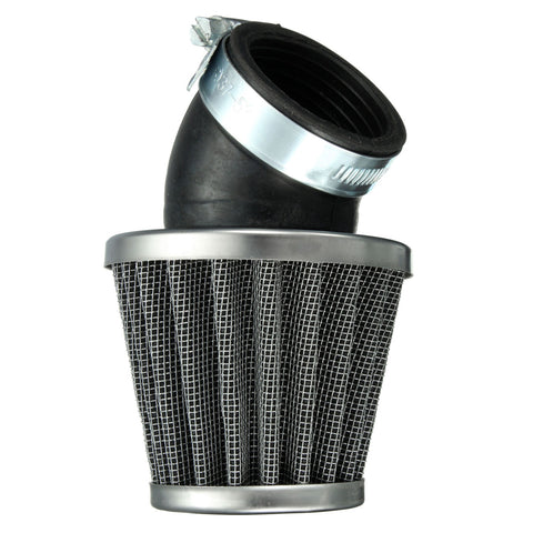 40mm Angled Air Filter Black For 50cc 110cc 125cc 140cc Pit Dirt Bike Motorcylce