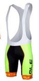 2015 ale  outdoors ciclismo bicycle shorts only fast-drying jersey materials Italy Ink 9D gel pad