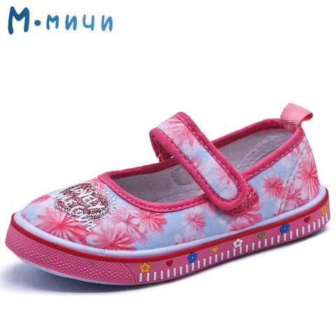 MMNUN 2017 Flower Kids Shoes for Girls Summer Spring Princess Shoes Toddler Baby Girl Footwear Children Shoes Girls Size 26-31