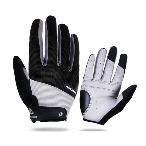 Arbot Full Finger Men Women Cycling Gloves Screen Bike Bicycle Sport Shockproof Outdoor Luvas bisiklet Black Summer Glove