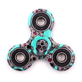 Hot Tri-Spinner Fidget Toy Plastic Stress Wheel EDC Anti Stress Hand Spinner For Autism and antistress Multicolor 11 Style