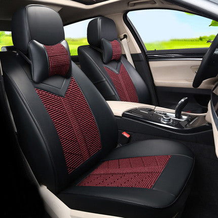 Toyota Sienna Seat Covers >> Car Styling Seat Protector Custom Fit For Toyota Sienna Car Seat Covers Interior Accessories Ice Silk Pu Leather Seats Supports