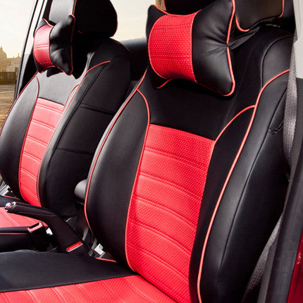 Car Styling Cover Seats For Toyota Sienna 2007 2011 Seat CoversSupports PU Leather