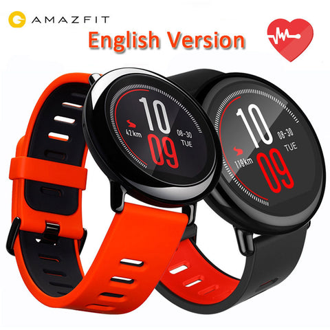 [ENGLISH VERSION]Original Xiaomi Huami Watch AMAZFIT Pace GPS Running Bluetooth 4.0 Sports Smart Watch MI Heart Rate Monitor CE