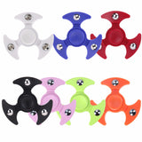 Tri-Spinner Fidget Toys Plastic EDC Sensory Hand Fidget Spinners For Autism and ADHD Kids/Adult Funny Anti Stress Toys