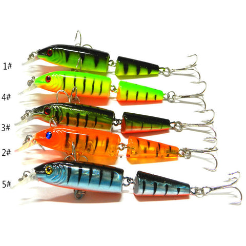 Dynamic New 1pcs Fishing Lures Spinner Crankbaits Hooks Baits Assorted Fish Tackle sharp and durable  outdoor