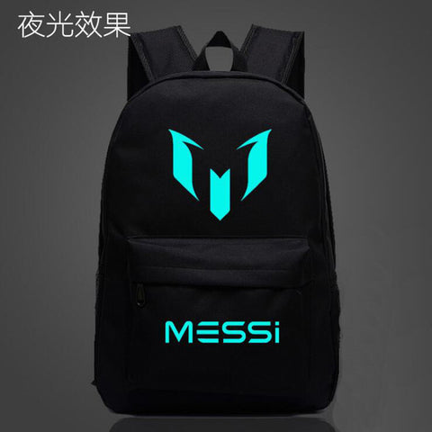 Logo Messi Backpack Bag Men Boys Barcelona Travel Bag Teenagers School Gift Kids Bagpack Mochila Bolsas Escolar
