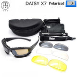 Hot! Daisy C5 Polarized Sunglasses X7 Airsoft Oculos Paintball Hiking Military Goggles Hunting Shooting Eyewear Tactical Glasses
