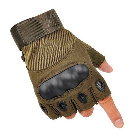 Winter Warm Gloves Outdoor Sports Fingerless/Full Finger Military Tactical Ski Gloves Men Bicicleta Luvas