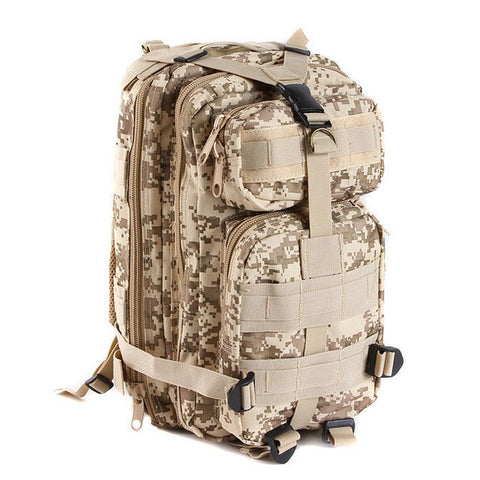 Large Capacity 30L Hiking Camping Bag Army Military Tactical Trekking Rucksack Backpack Camo storage bag