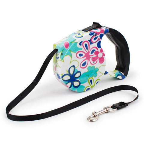 5M Outdoor Automatic Retractable Dog Leash Extending Puppy Walking Lead For Small Dogs