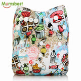 [Mumsbest] Baby One Size Adjustable Cloth Diapers Cover Reusable washable waterproof & breathable Nappy Cover