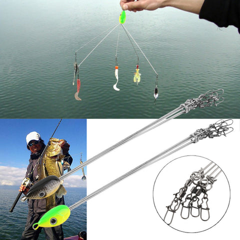Outdoors Convenient Fish Lures Fishing Hook Stainless Steel Equipment Multifunctional Fishing Tackle Combination free shipping
