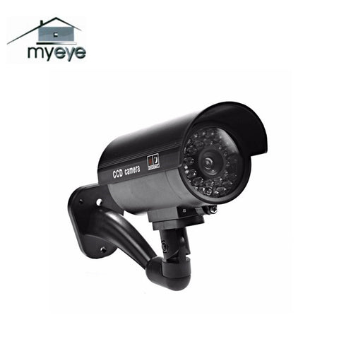 Myeye Waterproof  Fake Dummy Camera With LED Light Surveillance Fake Camera Outdoor Indoor Home Security Dummy Camera