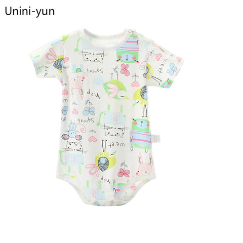 [Unini-yun]Baby Boy Clothes Animal Jumpsuit Baby Girl Rompers Clothing Deer Cartoon infant rompers baby boys girls clothes 3M-24