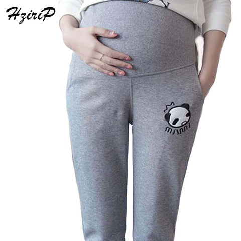 HziriP Casual Maternity Pants for Pregnant Women Maternity Clothes for Summer 2016 Overalls Pregnancy Pants Maternity Clothing