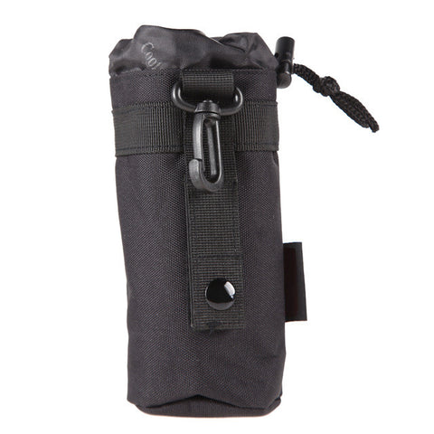Outdoor Tactical Military Molle System Water Bottle Bag Kettle Pouch Holder Multifunctional Water Bottle Holder bolsa de agua