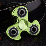 EDC Fidget Hand Plating Spinner Frame Tri-spinner Finger Puzzles Toys For Autism and ADHD Anxiety Stress Adults Kid Gift