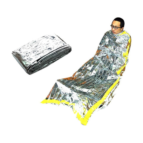 Military Army Rescue Survival Mylar Foil Emergency Disaster Sleeping Bag New H94