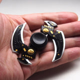 Spinner Fidget Toy Plastic EDC For Autism and ADHD Rotation Time Long Anti Stress Toys Tri-Spinner Fidget