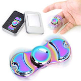 New Colorful Finger Fidget Toy Toy Spinner Rotation Time Long For Autism and ADHD Kids/Adult Funny Anti Stress