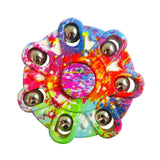New Multi-style EDC Hand Spinner Autism And ADHD Rotation Time Long Anti Stress ABS Material Finger Gyro Tri-Spinner Fidget Toy