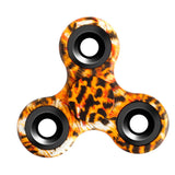 Painted Tri-Spinner Hand Spinner Fidgets Painting Finger Game Metal Bearing EDC Rotation Long Time Decompression Toys #E