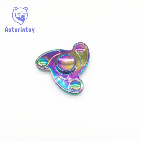 2017 Fidget Spinner Hand Spinner Multicolor Finger Spinner Finger Toy Metal Funny Anti Stress Reliever Fidget Handspinner Toy
