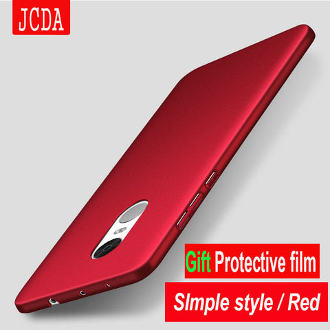 JCDA Brand For Xiaomi Redmi 4 pro prime note 4X 4A 3S 3 xiaomi 5 6 5s plus 4C 5C MAX 2 MIX m5 4G phone case cover Luxury Frosted