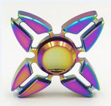 Metal Fidget Spinner Triangle EDC Plating Finger Hand Spinner For Autism/ADHD Anxiety Stress Relief Focus Toys