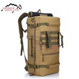 LOCAL LION Military Tactical Backpack Molle Nylon Waterproof Bag Tactical Mountaineer Bag Men Hiking Rucksack Army Backpack 50L