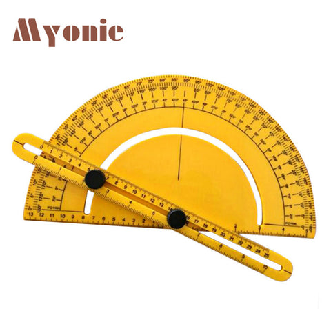 MYONIE professional protractor New Angle Engineer Protractor Finder Measure Arm Ruler Gauge Tool L70515 drop ship