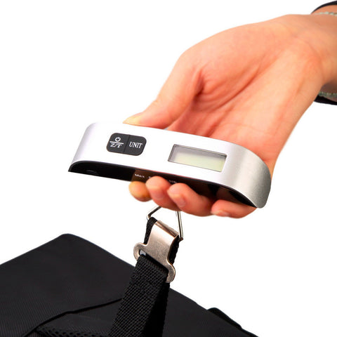 2017 Hot Sale Portable LCD Display Electronic Hanging Digital Luggage Weighting Scale 50 kg / 110 lb Weight Scales Free shipping