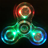 Shake Light Fidget Spinner Colorful Lighting For Autism and ADHD Finger Spinner Anti Stress Gift Toy