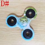 LeadingStar Spinner Colorful Tri-spinner Spinner Aluminum Alloy Fidget Toy Anxiety Stress Adults Kid ABS Spinner