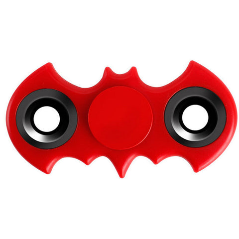 Tri-Spinner Fidgets Toy EDC Sensory Batman Finger Spinner Hand For Autism and ADHD Rotate Anti Stress Toys #E