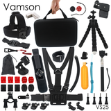 Vamson for Gopro Hero 5 Accessories Selfie Monopod Stick For Gopro 5 4 3+ for Xiaomi for SJCAM SJ4000 VS25