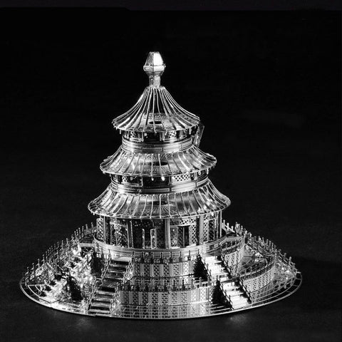 3D Assembly Metal Model Puzzles For Adult Stainless Steel Jigsaw Educational Kids Toys Creative New Year Christmas Gift