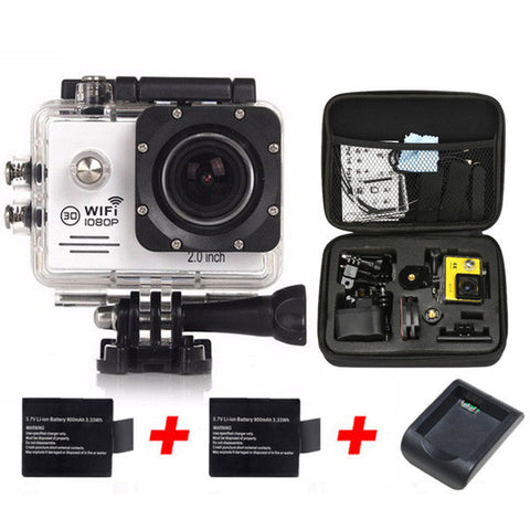 "gopro hero 5 camera Action Camera WIFI 12MP Full HD 1080P 30FPS 2.0""LCD Diving 30M Waterproof Sport Camera mini cam"