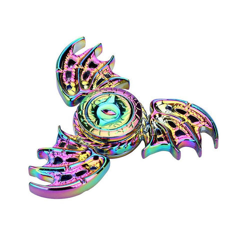 2017 Hot Metal Tri Spiner Dragon EDC Fidget Toys Game of Thrones Hand Spinner Metal Finger Stress Tri Spinner Dragon For Adults