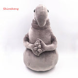 SHINEHENG Alien Blob Zhdun Tubby Plush Toy Gray  Homunculus Loxodontus The Toy Is Waiting Memes of Moslent Zhdun Wait Doll