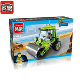 ENLIGHTEN City Series Road Roller Building Blocks kits DIY Educational  Assembled Mode Blocks Toy for Children Gifts