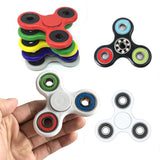 9 colors Tri-Spinner Fidget Toy Plastic EDC Hand Spinner For Autism and ADHD Rotation Time Long Anti Stress Toys #E