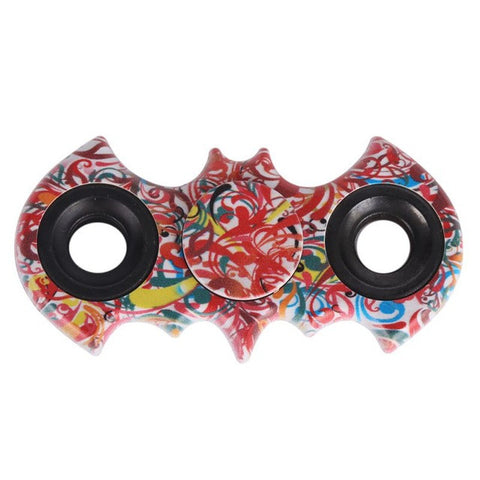 Batman Finger spinner Stainless Steel Bearing Handspinner Toys Copper Fidget Toy For Autism ADHD Anxiety Toys Gift