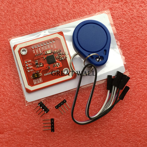 10pcs PN532 NFC RFID module V3, NFC with Android phone extension of RFID provide Schematic and library hong