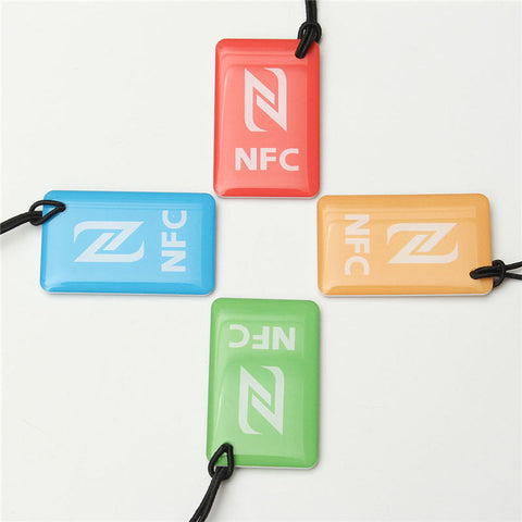 NEW 4PCS A Lot N-T-A-G 216 Universal 888 bytes NFC Tags for Business Card Access Control Hpme Usage Different Quality